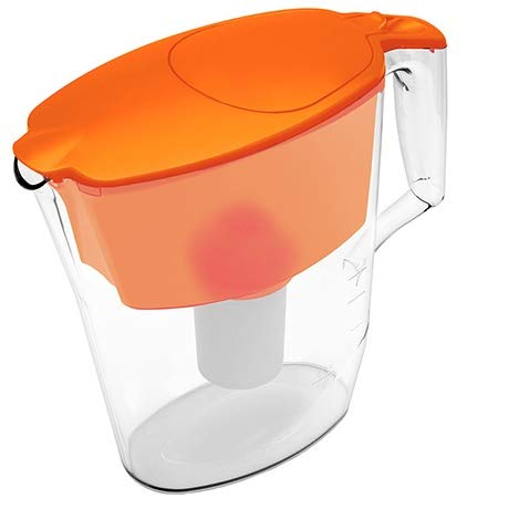 Aquaphor 4744131010397 Filterkanne Standard, orange Plus Kartusche B100-15
