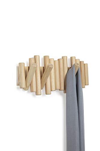 Umbra Picket Garderobenhaken und Moderne Wand Dekoration, Holz, Natur,