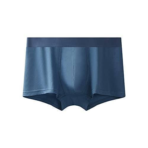 JFSFAS Unterhosen männer Slips Herren Unterhosen sexy Set Boxershorts Herren locker badeslip sexy Herren Security Hose schwarz Herren Blau XL