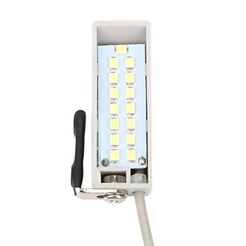 CUTULAMO Lampe LED à Coudre, ajustez la Position de la lumière en Fonction de Vos Besoins Lampe à Coudre 0.5W réglable pour Machines à Coudre Machines industrielles et domestiques