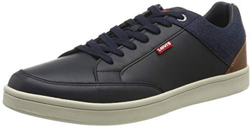 Levi's Billy, Zapatillas para Hombre, Azul (Navy Blue 17), 43 EU