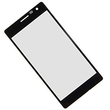 SPAREWARE Front Outer Touch Screen Glass (Used on Broken Screen But Working Fine) Compatible with Nokia Lumia 730 Black`
