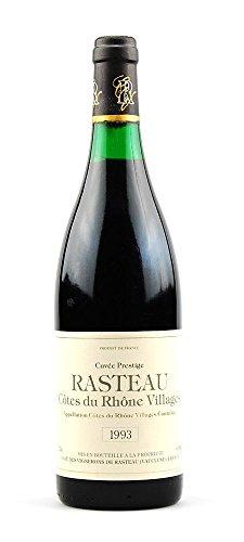 Wein 1993 Cotes du Rhone Villages Rasteau Cuvee