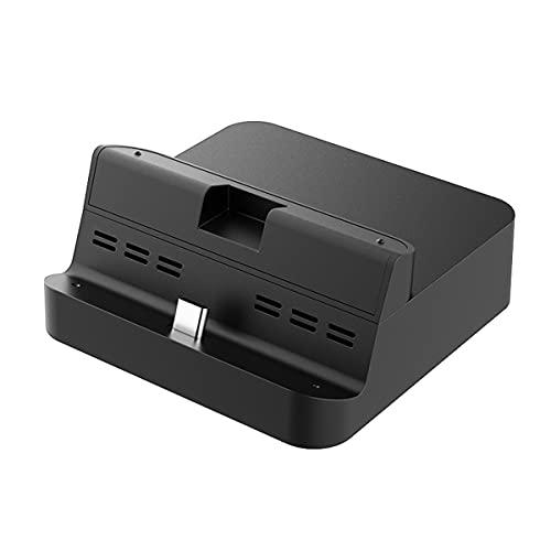 GuliKit NS05 Docking Station für Nintendo Switch, Kompakter Switch Dock Set Ladestation USB C auf HDMI 4K Adapter mit USB 3.0 Port Kompatibel mit Samsung Dex-Modus, Huawei PC Modus