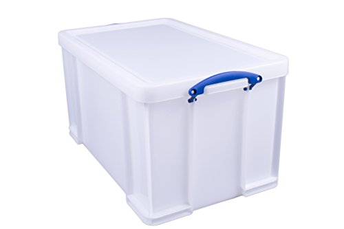 Really Useful Products 84WSTR - Caja de almacenaje (84 L), color blanco