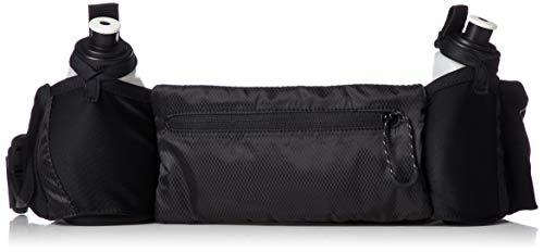 adidas Run 2 Trinkflaschengürtel, Black/Black/Reflective, 9 x 66 cm