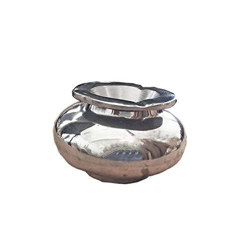 ARTIGIANATO VULCANO Posacenere portacenere Marocchino in Alluminio Realizzato a Mano