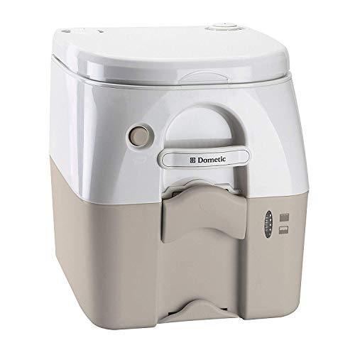 Dometic TAN 5 Gallon 301097602 970 Series Portable Toilet-5.0 Gallon