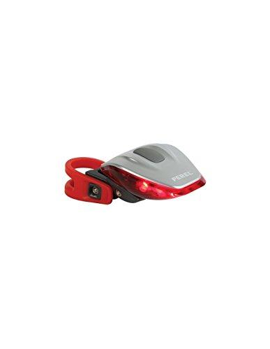 Perel ebl5 Feu arrière pour vélo LED rouge, (Lot de 6)