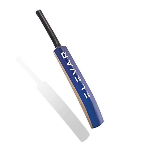Elevar Gully - Kashmir Willow Tennis Ball Bat for Hard and Soft Tennis Balls (Gully-Cricket-Size/Soft Tennis Ball)