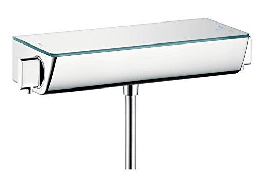 hansgrohe Ecostat Select Aufputz Duschthermostat, für 1 Funktion mit Adapter zur Renovation, Chrom