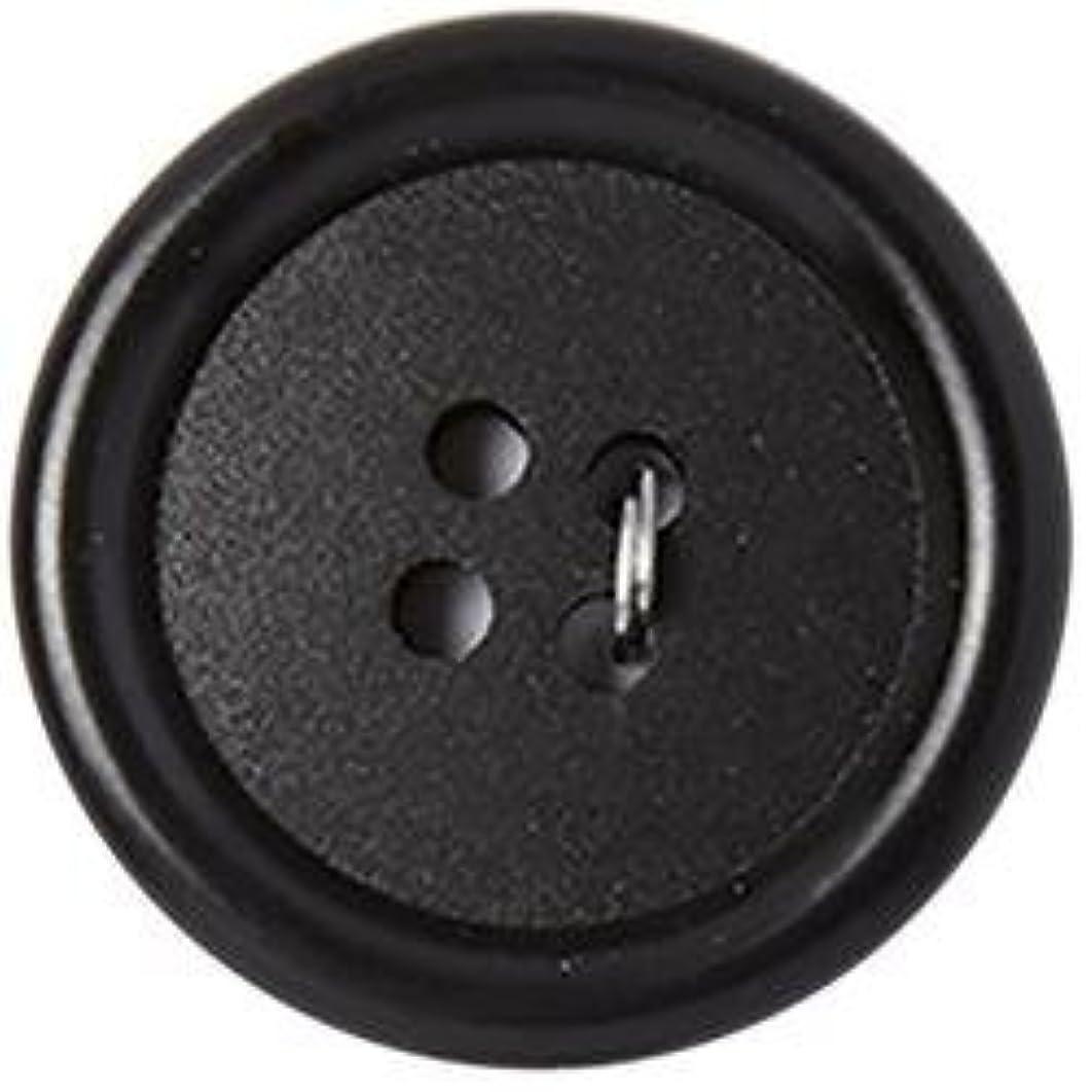 Bulk Buy: Blumenthal Lansing Slimline Buttons Series 2-Black 4-Hole 1