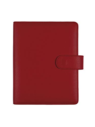 Finocam – 2022 1 Day Page Diary, January 2022 to December 2022 (12 months) 500 – 117 x 181 mm Open Leo Organiser Red Catalan