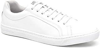 a6e75706e7 Sapatênis Masculino em Couro LifeRock LR98009-2 Branco