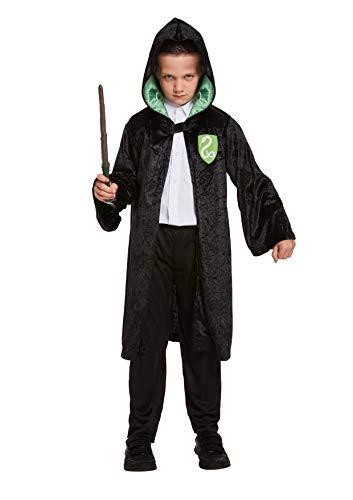 Legs Galore Evil Wizard Jongen kostuum met draad, sjaal en stropdas set medium 7-9 jaar verkocht