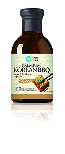 Chung Jung One Premium Korean BBQ Sauce and Marinade, Original, 2 Count