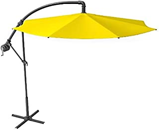 d9034cd574ad5 PSU Offset Umbrella - 10Ft Cantilever Patio Umbrella, Outdoor Market  Umbrellas Heavy Duty Aluminium Pole