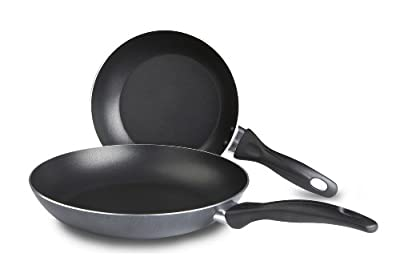 T-Fal Specialty Nonstick Fry Pan Set 2pc 8 & 10-1/4