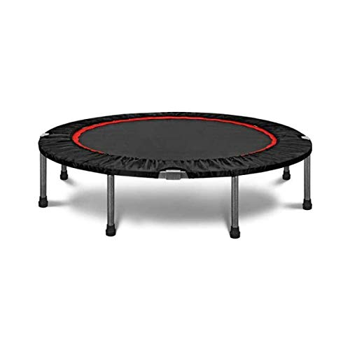 GXLO 40 Inch Mini Trampolines Exercise Durable Wide And Thick Adults Indoor Fitness Rebounder for Kids Folds Away/Small Easy Storage
