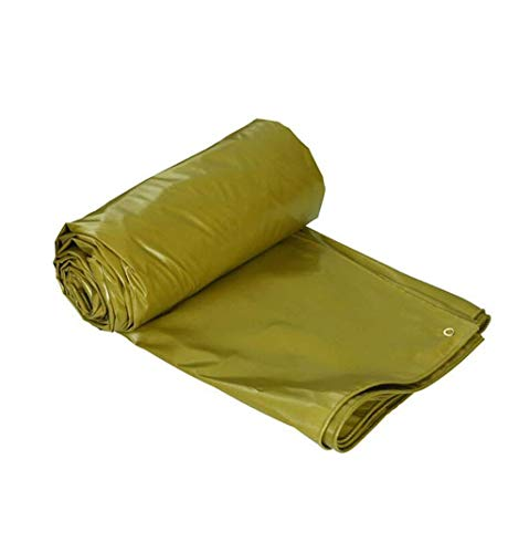 DJPB Multi-Purpose Heavy Duty Waterproof Tarpaulin Tent Underlay For Camping And Outdoor Ground Sheet Covers Multi-size Options 4PB08 (Size : 7X5M)