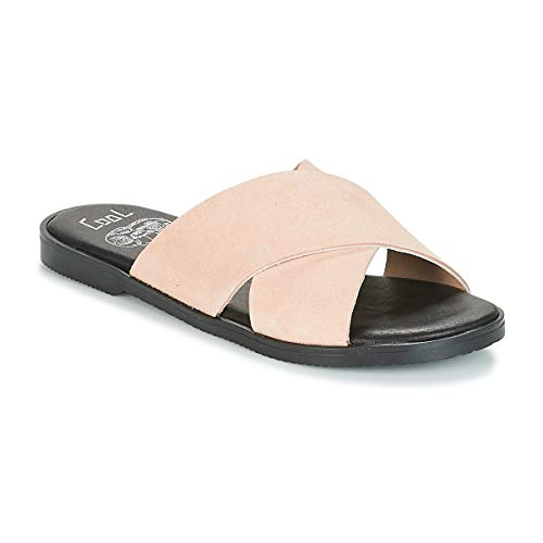 Coolway Andrea Zuecos Mujeres Rosa/Nude - 37 - Zuecos (Mules) Shoes