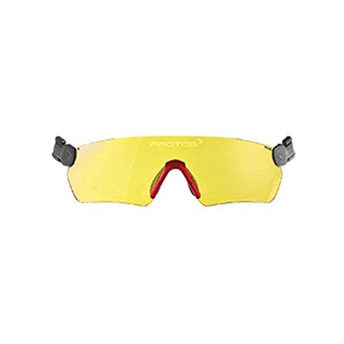 Protos integrale Schutzbrille für Helmsystem, Farbe:gelb