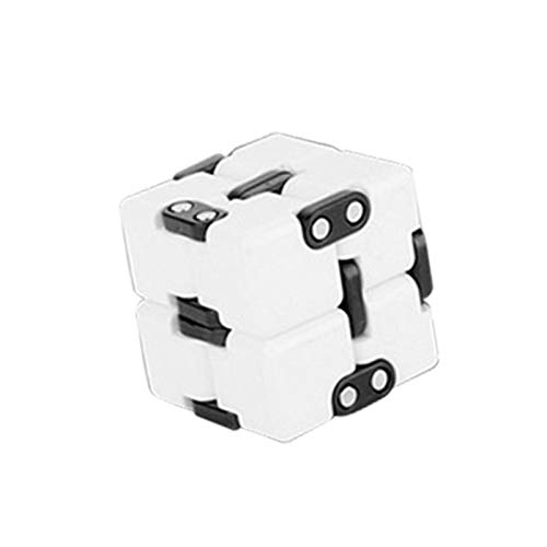 Infinity Cube Toy para Adultos y niños, Killing Time Fidget Toys Infinite Cube para Office Staff,Alivie la tensión y la Ansiedad Mientras Realiza Tareas o Espera.