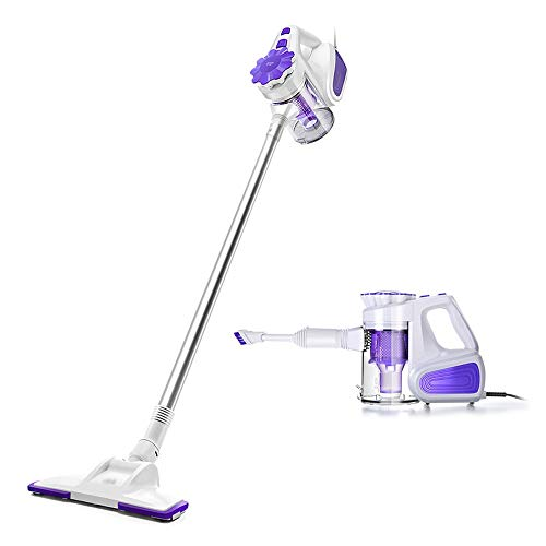Cheapest Prices! CMmin Upright Stick Handheld Vacuum Cleaner,Mini Silent Portable Vacuum Cleaner,2 i...