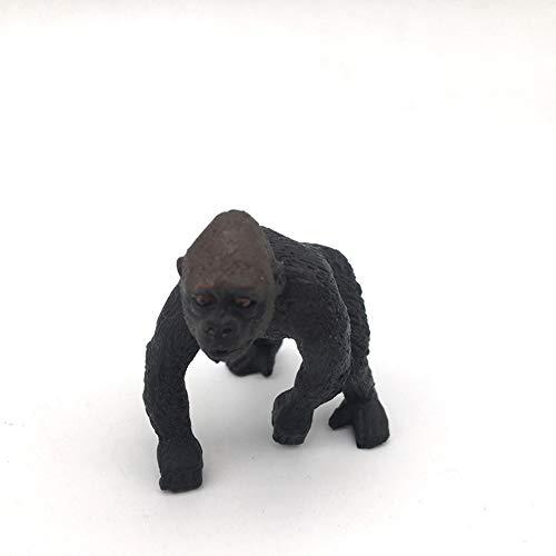 Ogquaton Figura de acción realista Haplorrhini Gorilla modelo de juguete decorativa coleccionable mejor opción