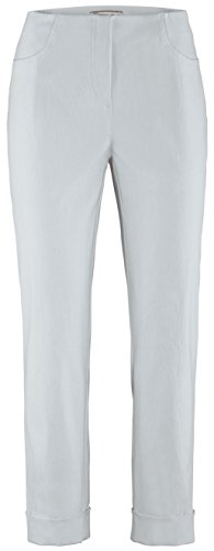 Stehmann IGOR-680, Sportive Damenhose mit aufgesetzten Taschen und Aufschlag, 6/8 Länge 40