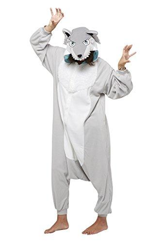 SAZAC Japan Pyjama Kigurumi Loup Gris
