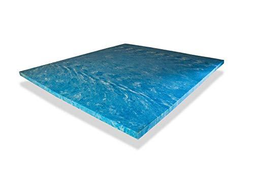 PAARA ORIGINAL GELAX® | 5cm Gelschaum | Topper Kern | Topperkern | Ohne Bezug | (80 x 200 cm)