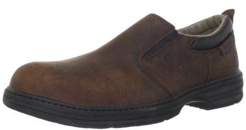 "Caterpillar mens Ally 6"" Waterproof Comp Toe industrial and construction shoes, Dark Brown, 10.5 Wide US"