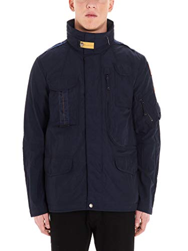 Luxury Fashion | Parajumpers Heren PMJCKMA04562 Donkerblauw Polyester Outerwear Jassen | Lente-zomer 20