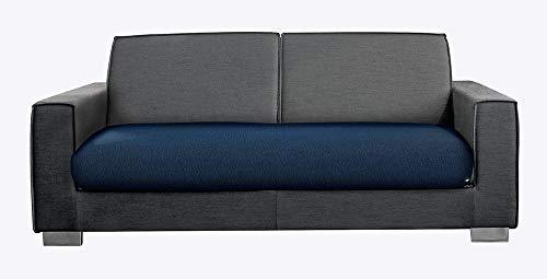 M&O COPRISEDUTA COPRIDIVANO BIOELASTICO per Divano da 2 POSTI Colore Blu Royal