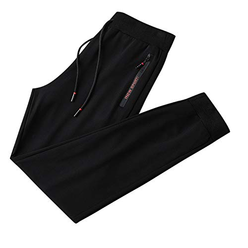 XYJD Freizeithose für Wintermänner, warme Schutzhose, große Sporthose für Herren, goldene Samthose für Herbst und Winter, Samtfüße für Herren und Plus