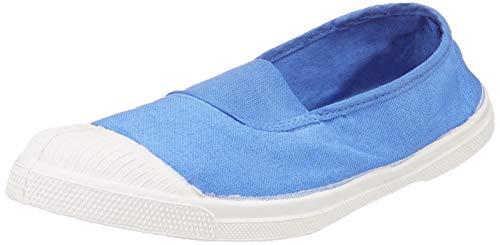 Bensimon Damen Tennis Elastique Sneaker, Blau (Horizon 0504), 37 EU