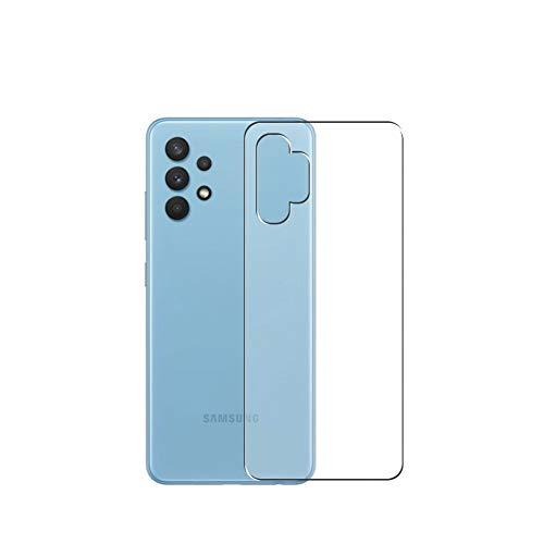 Vaxson 2 Unidades Protector de pantalla Posterior, compatible con Samsung Galaxy A32 4G LTE [No Vidrio Templado] TPU Película Protectora Espalda