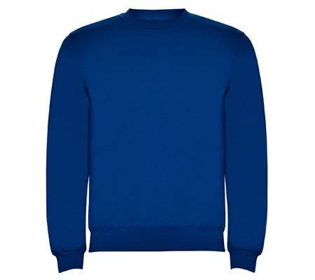 Argius Sudadera Básica (Fabricación Nacional) (L, Azul Royal)