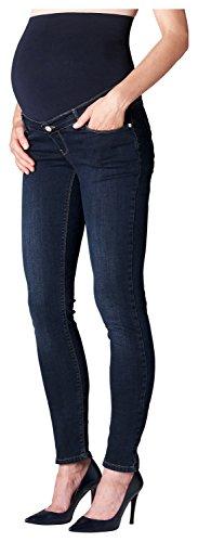 ESPRIT Maternity Damen Pants Denim OTB Slim M8C122 Umstandsjeans, Darkwash, W28/L32 (Herstellergröße: 36/32)