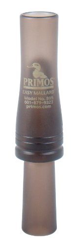 Primos Hunting 805 Duck Call, Easy Mallard Single Reed