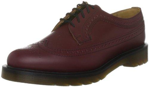 Dr. Martens Unisex-Erwachsene 3989 Shoe Brogue Schnürhalbschuhe, Rot (Cherry Red), 40 EU