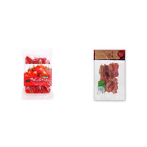 [2点セット] 収穫の朝 さくらんぼグラッセ ラム酒風味(180g)・薫製達人 豚バラベーコン燻製(60g)[飛騨山椒付き]