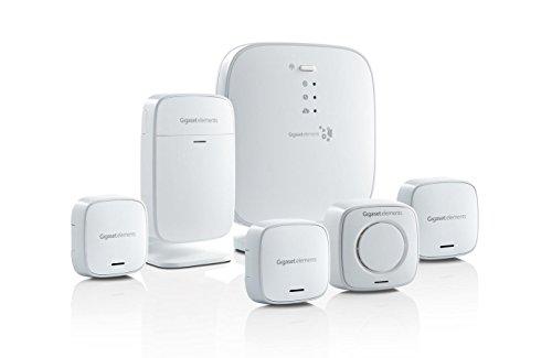 Gigaset elements Alarmanlage / elements alarm kit / Smart Home Basisstation Bewegungsmelder Türsensor Alarmsirene Fenstersensoren / Alexa Kompatibel