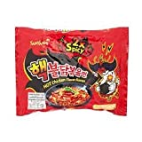 Samyang, Hot Chicken Flavour Ramen, 2x Spicy, net weight 140 g (Pack of 2 pieces) // 8eststore by KK