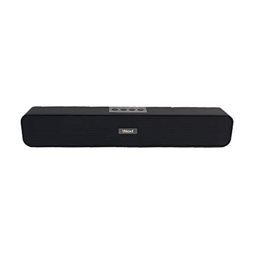 iNext Bluetooth Soundbar Speaker|SN654|Black|Portable