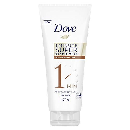 Dove 1 Minute Super Conditioner Nourishing Oil Care (zur täglichen Anwendung für geschädigtes Haar), 1 Stück (1 x 170 ml)