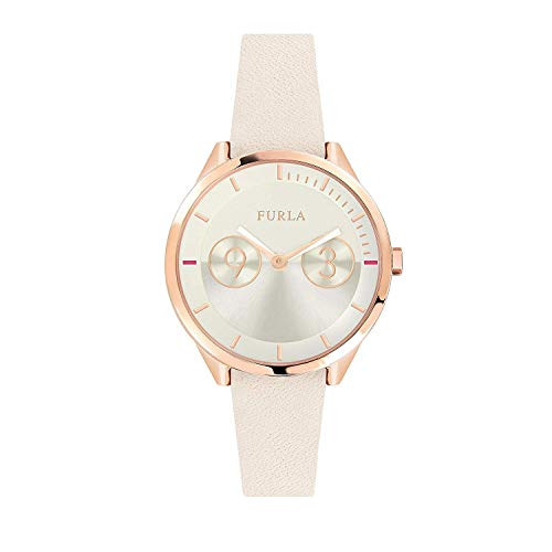FURLA Reloj Analógico para Mujer de Cuarzo con Correa en Cuero R4251102542