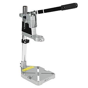 Broco Soporte Taladro Banco, Abrazadera de la prensa de taladro soporte Banco de trabajo de reparación de herramientas for la perforación de base de aluminio (solo orificio)
