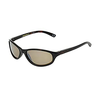 Foster Grant Women s Choice Polarized Oval Sunglasses Tortoise/Amber One Size